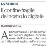 Il confine fragile del nostro Io digitale – la Repubblica