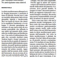 È la dieta mediterranea l'alimentazione del futuro – la Repubblica Bologna