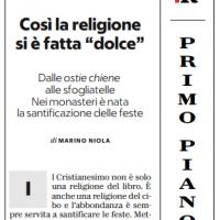 """Così la religione si è fatta """"dolce"""" – la Repubblica"""