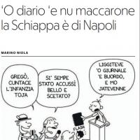 'O diario 'e nu maccarone la Schiappa è di Napoli – la Repubblica