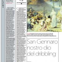 San Gennaro nostro dio del dribbling – la Repubblica