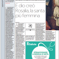 E dio creò Rosalia, la santa più femmina – la Repubblica
