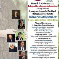 11 – 14 ottobre. Bologna Award