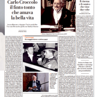 Carlo Croccolo il finto tonto che amava la bella vita – la Repubblica