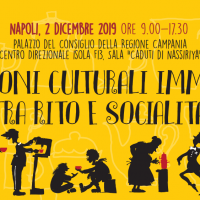 2 dicembre. Convegno I PATRIMONI CULTURALI IMMATERIALI TRA RITO E SOCIALITA'