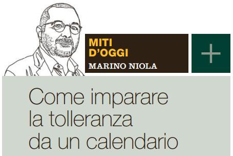 Calendario Repubblica.Come Imparare La Tolleranza Da Un Calendario Il Venerdi Di
